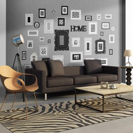 Papier peint  Wall full of frames