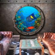 Papier peint  Submarine Window