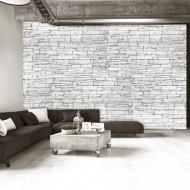 Papier peint  White Brick