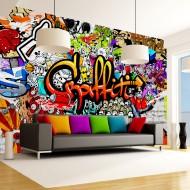 Papier peint  Colorful Graffiti