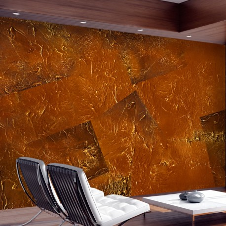 Papier peint  Golden Magma