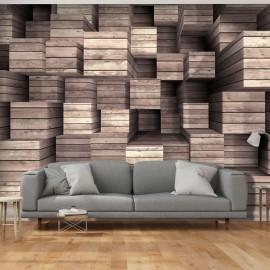 Papier peint - Wooden Finesse