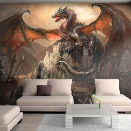 Papier peint  Dragon castle