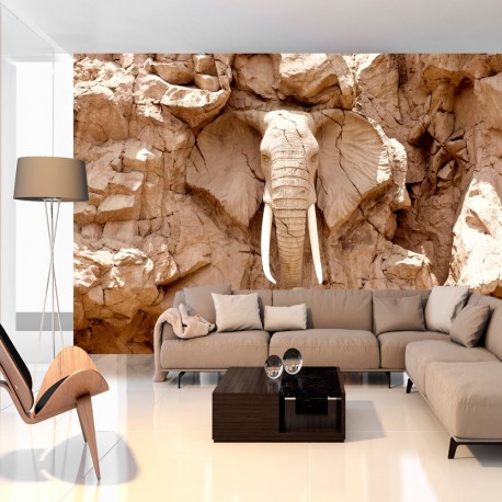 Papier peint  Stone Elephant (South Africa)
