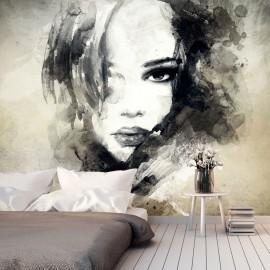 Papier peint - Mysterious Girl