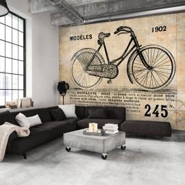 Papier peint - Vélo ancien