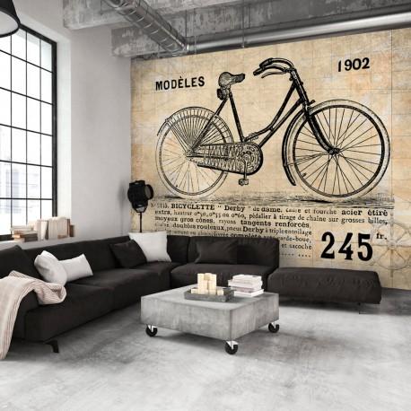 Papier peint  Vélo ancien