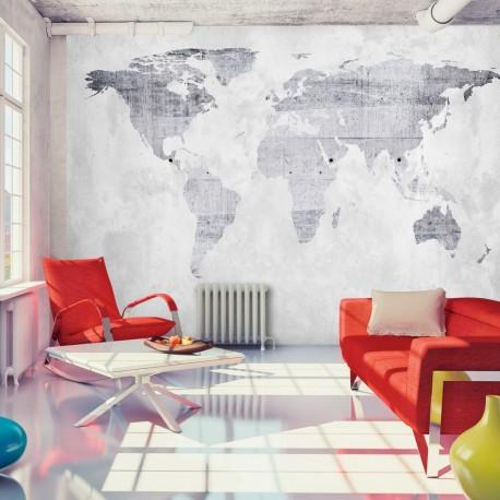 Papier peint  Concrete Map