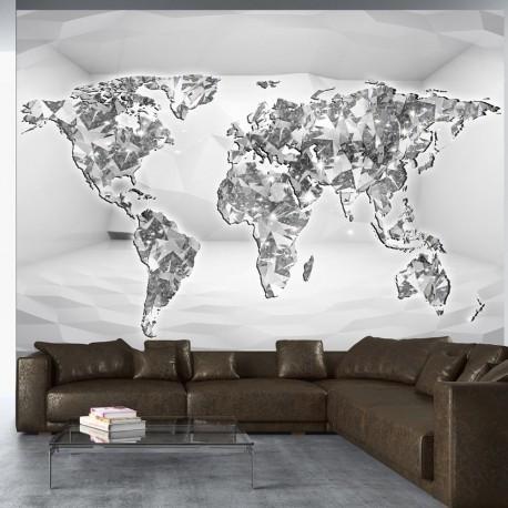 Papier peint  Diamond map