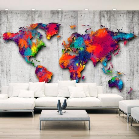 Papier peint  Concrete World
