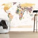 Papier peint - World Map