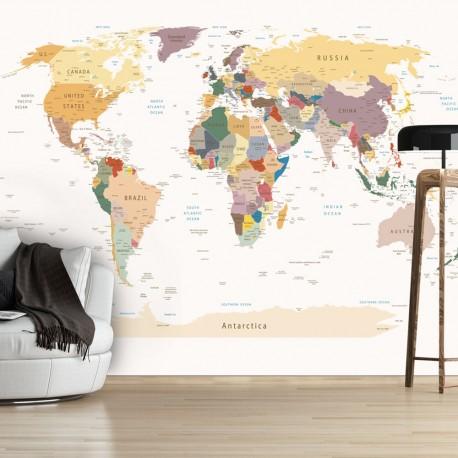 Papier peint  World Map