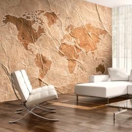 Papier peint - Sandy Map