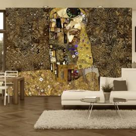 Papier peint - Klimt inspiration - Golden Kiss