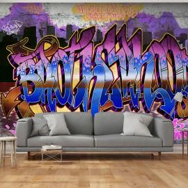 Papier peint -  Colorful Mural