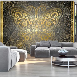 Papier peint - Golden Butterfly
