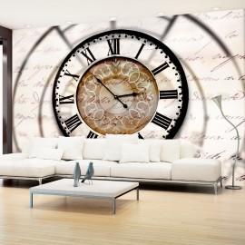 Papier peint - Clock movement