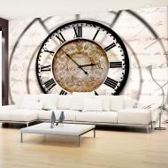 Papier peint  Clock movement