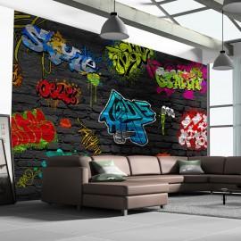 Papier peint - Graffiti wall