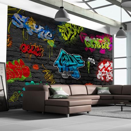 Papier peint  Graffiti wall