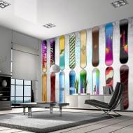 Papier peint  Snowboard wall