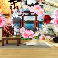 Papier peint   Oriental vertigo
