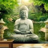 Papier peint  Buddhas garden