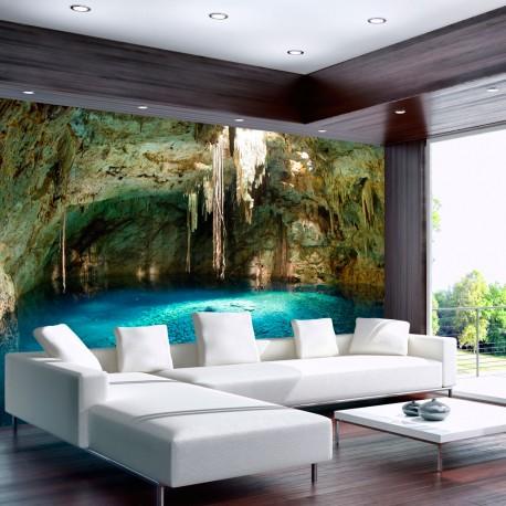 Papier peint  Stalactite cave