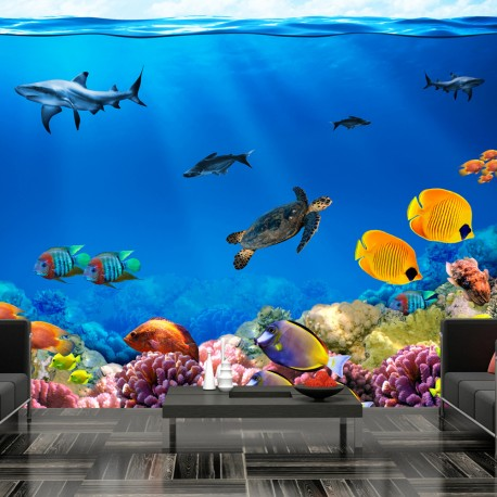 Papier peint  Underwater kingdom
