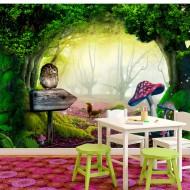 Papier peint  Owlish corner
