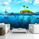 Papier peint - Royaume nautique