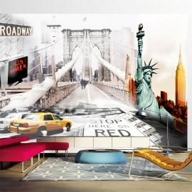 Papier peint - New York streets