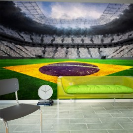 Papier peint - Brazilian stadium