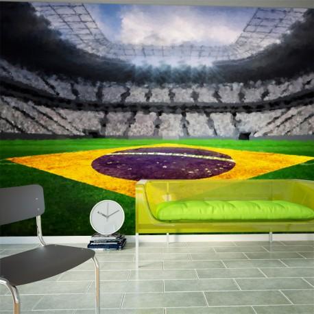 Papier peint  Brazilian stadium