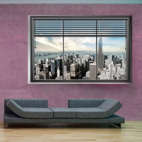 Papier peint  New York window II