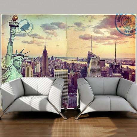 Papier peint  Postcard from New York