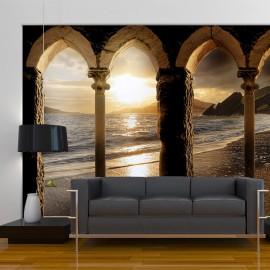 Papier peint - Castle on the beach