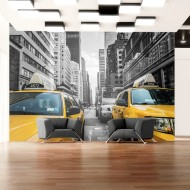 Papier peint  New York taxi