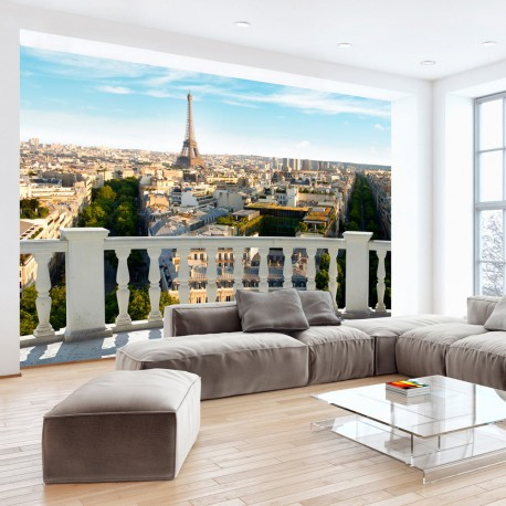 Papier peint  Paris at noon