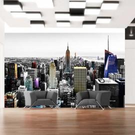Papier peint - Iridescent skyscrapers