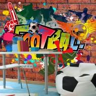 Papier peint  Football fans!
