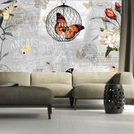 Papier peint - Butterflies song