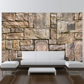 Papier peint - Puzzle de pierre