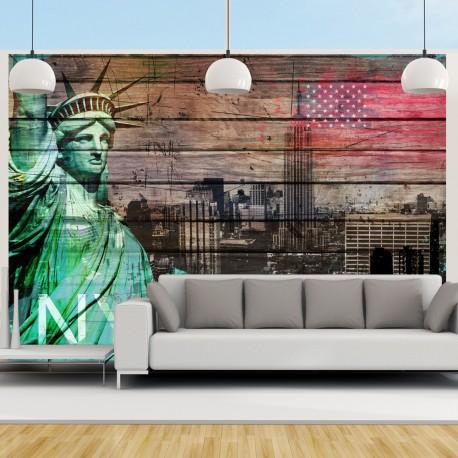 Papier peint  NYC symbols