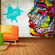 Papier peint  Graffiti beauty