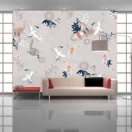 Papier peint  Wild herons