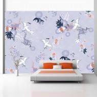 Papier peint  Flight of herons