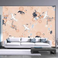 Papier peint  Dance of herons