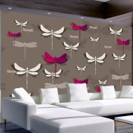 Papier peint  Dancing dragonflies