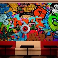 Papier peint  Graffiti art